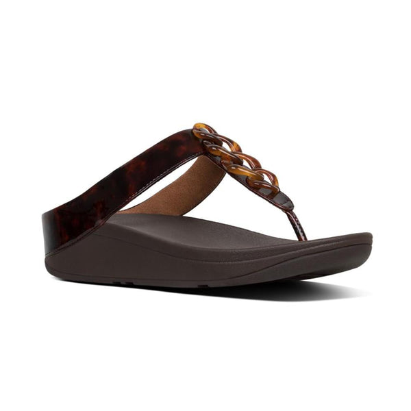 FIT FLOP FINO TORT CHAIN BROWN - T24690