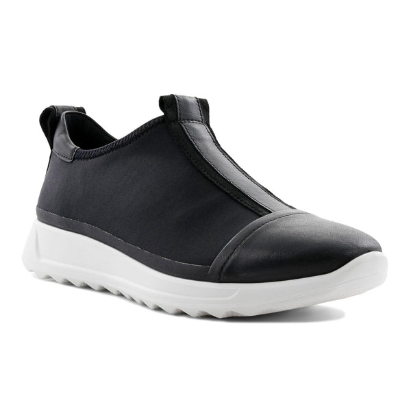 ECCO FLEXURE RUNNER SLIP BLACK - 29231351562