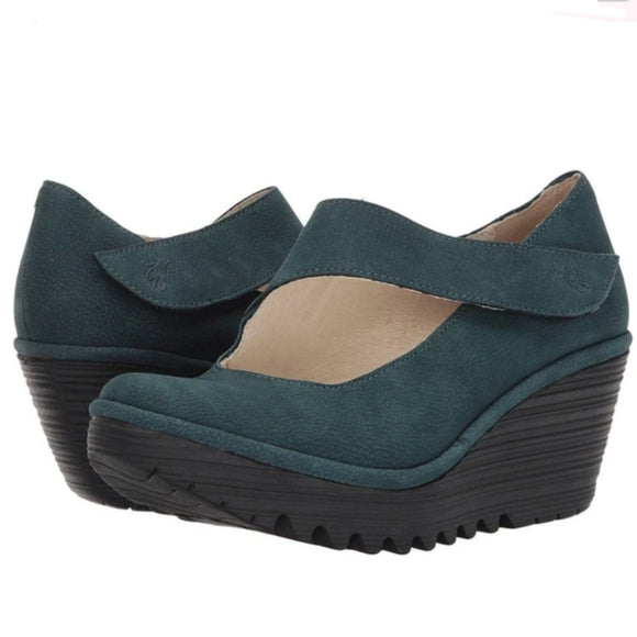*SALE* FLY LONDON YASI - FOREST GREEN - YASIGRN