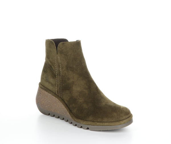 FLY LONDON NILO SUEDE SLUDGE - NILOSLG