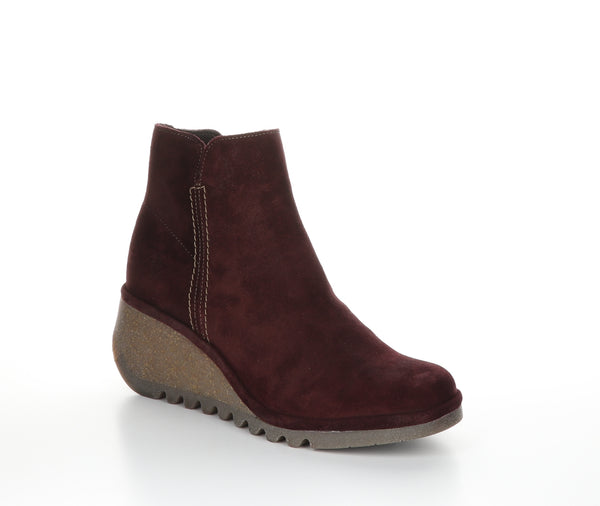 *SALE* FLY LONDON NILO SUEDE WINE - NILOWIN