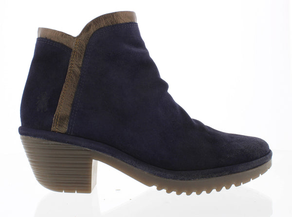 FLY LONDON WYNN SUEDE NAVY - WYNNNVY