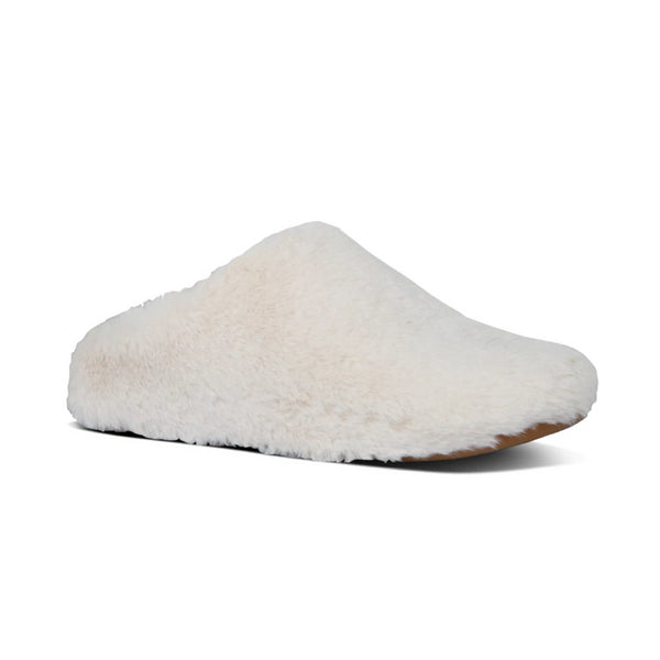 *FINAL SALE* FIT FLOP FURRY SLIPPERS MINK - Y19068