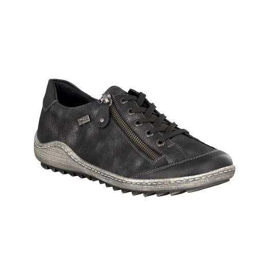 RIEKER LACE UP GRAPHITE - R140202