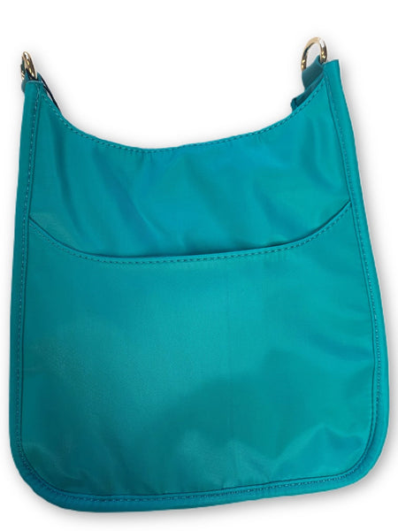 AHDORNED NYLON BAG W/O STRAP - TURQUOISE - 72531NTRQ