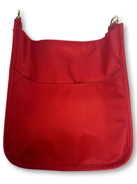 AHDORNED NYLON BAG W/O STRAP - RED - 72531NRD