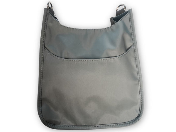 AHDORNED NYLON BAG W/O STRAP - GREY - 72531NLTGRY