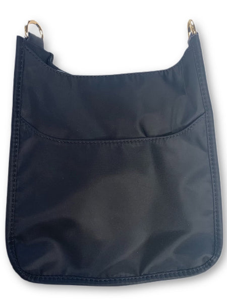 AHDORNED NYLON BAG W/O STRAP - BLACK - 72531NBLK