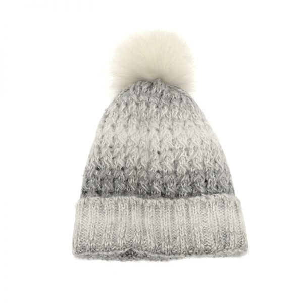 JOY ACCESSORIES HAT KNIT W/POM - G987501