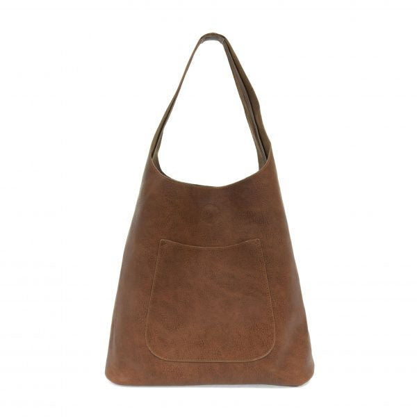 JOY ACCESSORIES MOLLY SLOUCHY HOBO - HICKORY - L801763