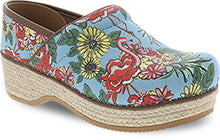 *FINAL SALE DANSKO JUTE PROFLAMINGO MULTI MTO - 026191212