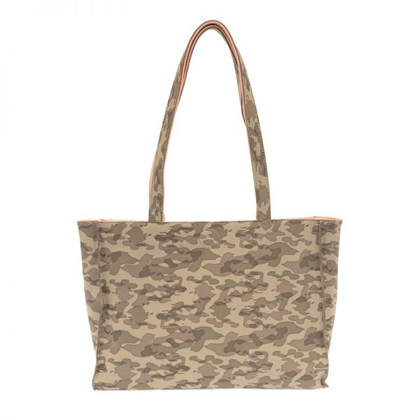 JOY ACCESSORIES REVERSIBLE TOTE - CAMO OR PINK - L809144
