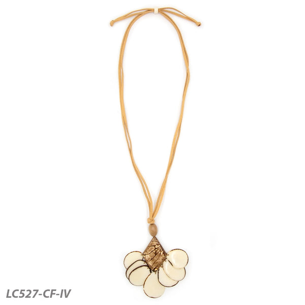 TAGUA MYSTIQUE NECKLACE - IVORY MULTI - LC527CFIV