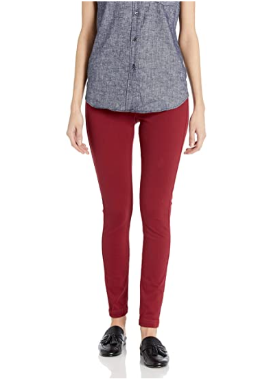 *SALE* LYSSE COATED DENIM - 2718682 - WINE RED