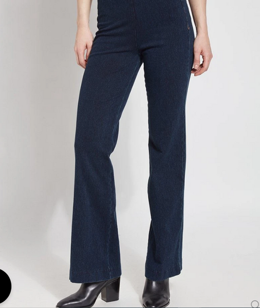 LYSSE DENIM TROUSER - 1420401