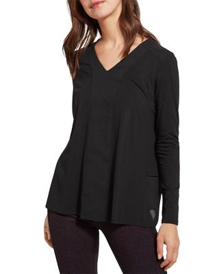 LYSSE LINNEA TOP - BLACK - 2615001