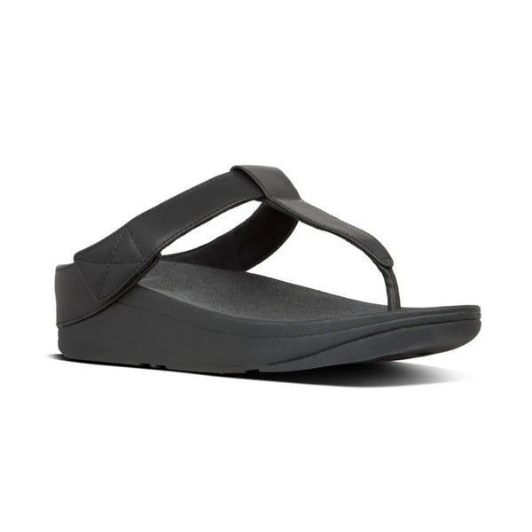FIT FLOP MINA TOE THONGS BLACK - X19090