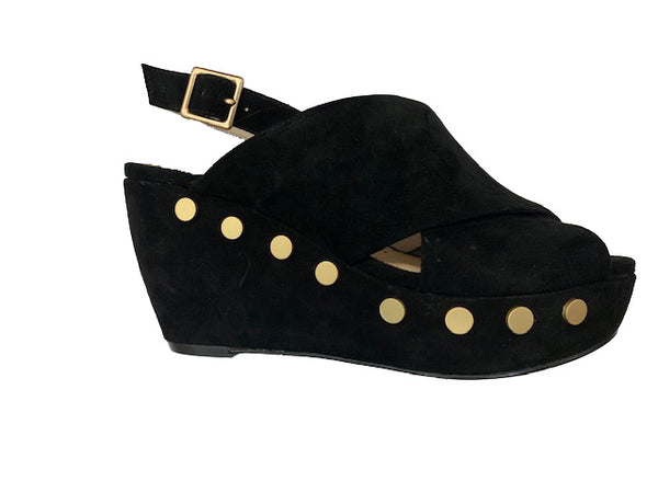 SACHA LONDON OWEN BLACK SUEDE - OWEN1