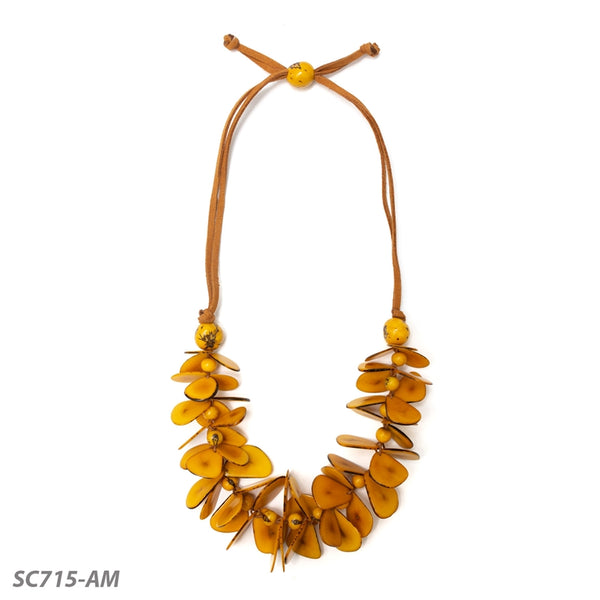 TAGUA MARIPOSA NECKLACE  - SC715AM