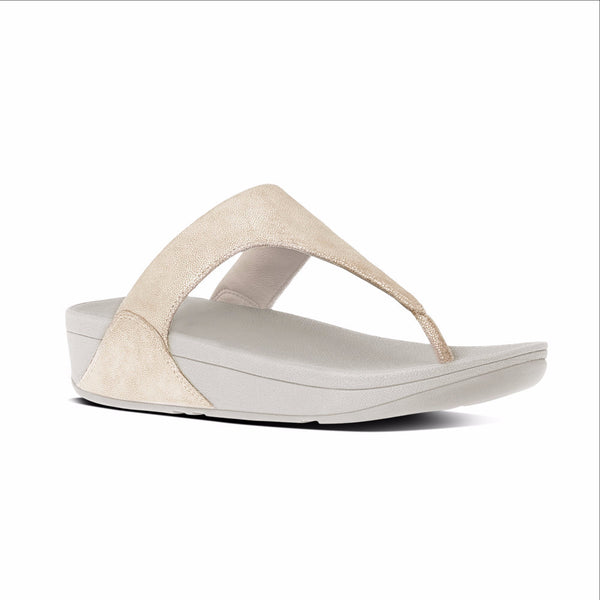 FITFLOP SHIMMY TOE POST - C64308 - GOLD *SPECIAL FINAL SALE