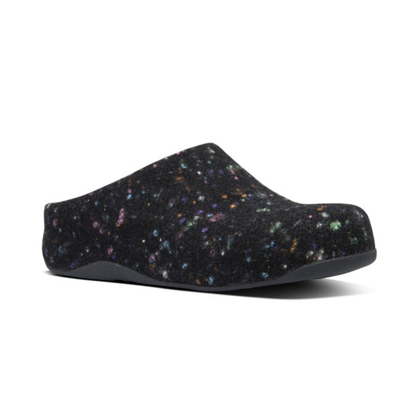 *FINAL SALE* FIT FLOP SHUV FELT ALL BLK - Z26090