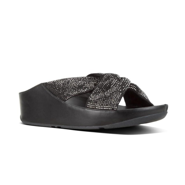 72f0bcf329b FIT FLOP TWISS CRYSTAL SLIDE BLACK - R44001 – Kaufman Shoes