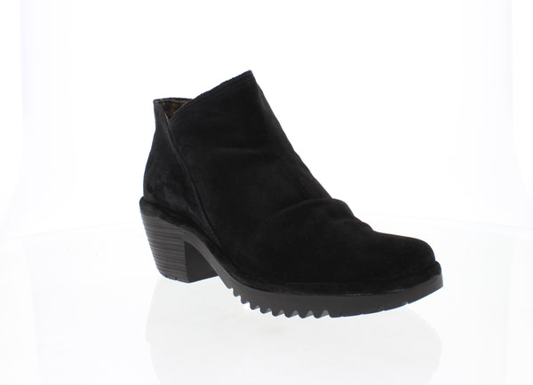 FLY LONDON WEZO BLACK SUEDE - WEZO890BLK