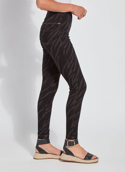*SALE* LYSSE TOOTHPICK DENIM - ZEBRA - 2581568