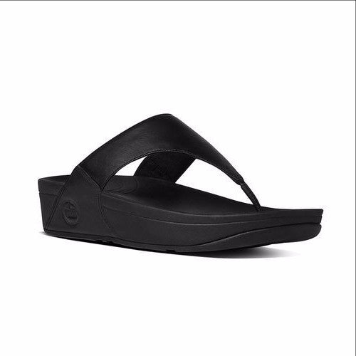 FITFLOP LULU - 288001 - BLACK LEATHER
