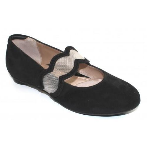 *FINAL SALE BEAUTIFEEL IRIS BLACK SUEDE - 2839710