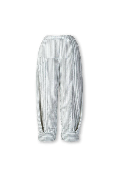 CYNTHIA ASHBY TURIN STRIPE PANT - NATURAL - RS432NAT