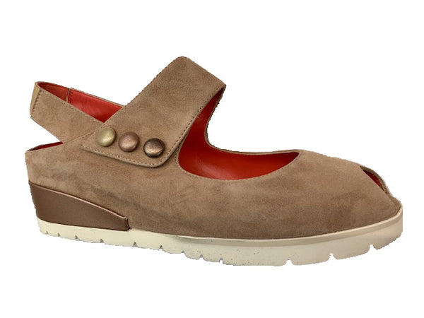 *FINAL SALE PAS DE ROUGE SILVIA TAUPE ONICE RAME PA - 2364TPE 30% OFF WITH CODE SPRING SALE 30%
