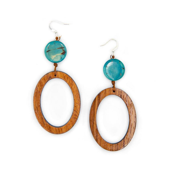 TAGUA BEIJA EARRINGS - 1E063TQ