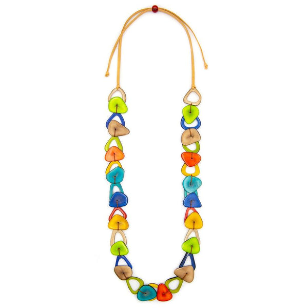 TAGUA CAROLINE NECKLACE - LC151MULTI