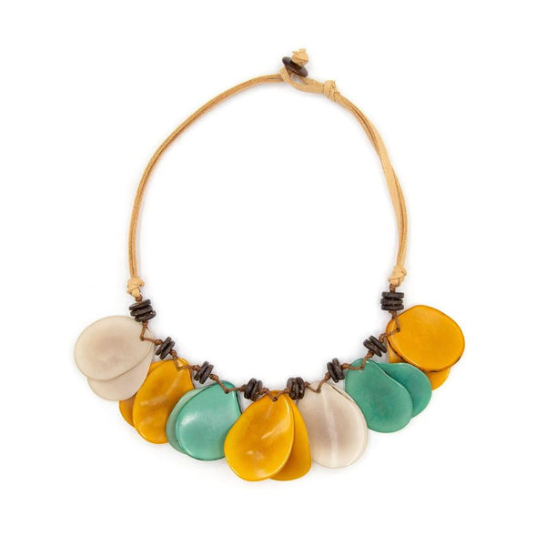 TAGUA ADRIANA NECKLACE - SC321MSAQUAIV