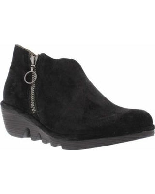 FLY LONDON PORO SUEDE BLACK - POROBLK