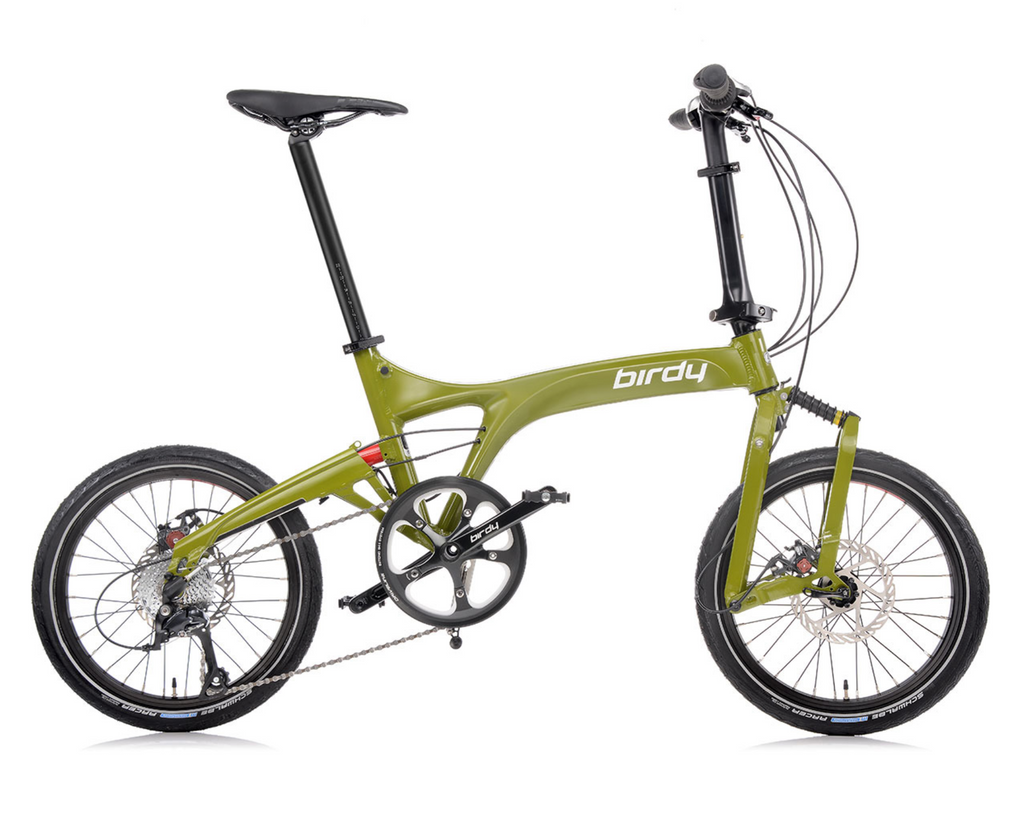 NEW BIRDY Touring 3x8 Olive Green