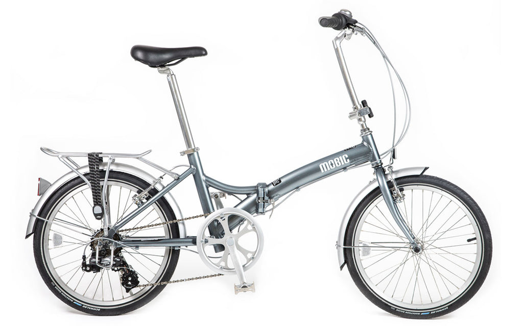 MOBIC 415ATR - Aluminum Alloy Portable Folding Bike with Rear Rack
