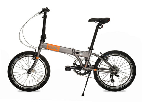 MOBIC Fusion X9 - 9 Speed Aluminum Folding Bike
