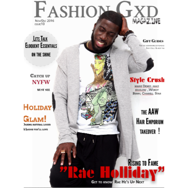 Rae Holliday : Fashion GXD Magazine Cover
