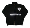 Reflective Zippered Men's Sweatsuit Jacket