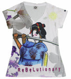ReBeLutionary : Women's V-Neck Tee