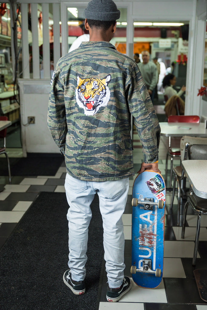 "Tiger Camo ""Shacket"""