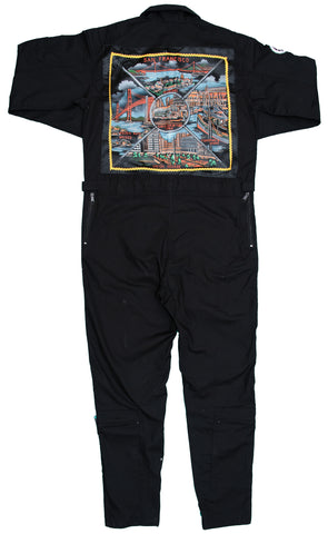 Black Fight Suit-Coral Hawaii