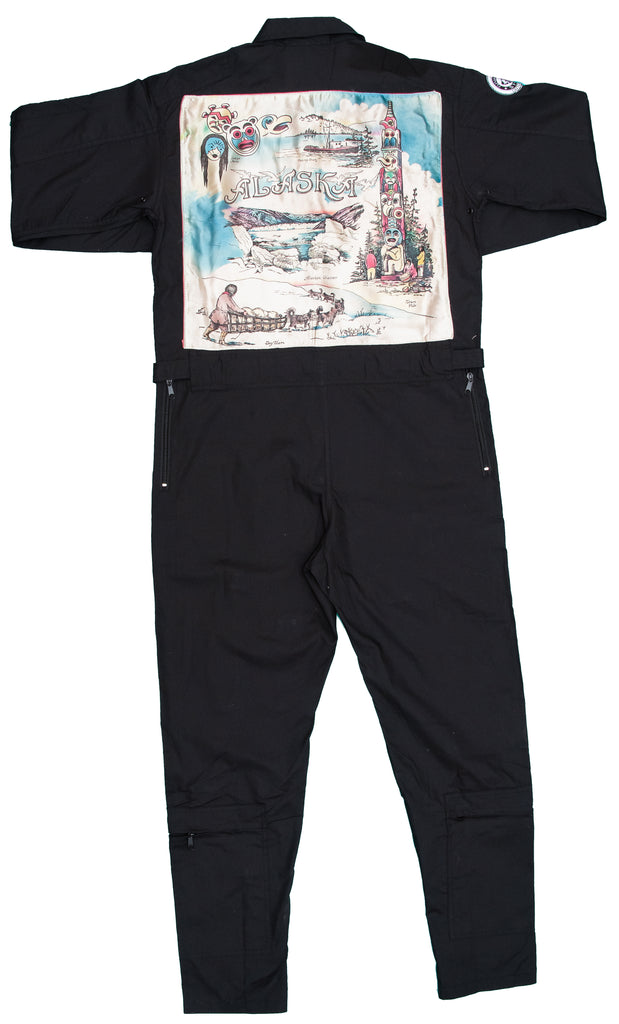 Black Flight Suit- Alaska