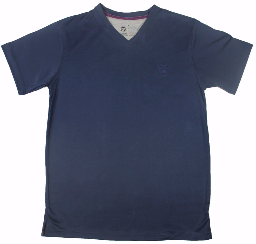 Big Face : Mercerized Men's V-Neck Tee