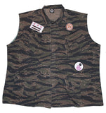 Camo Army vest- Honolulu