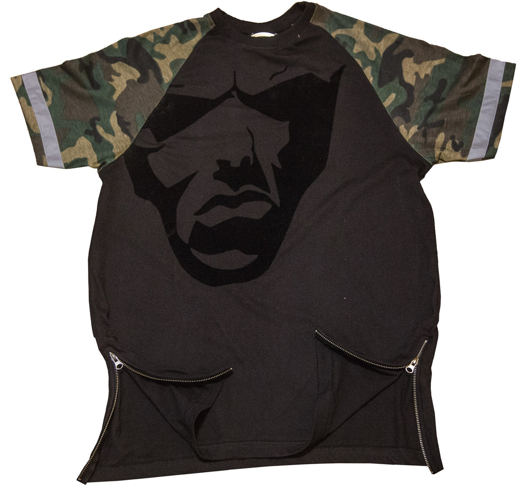 Big Face Camo : Reflective