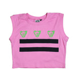 DC Flag Ladies crop-T