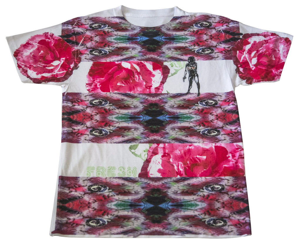 Fresh Roses & Guns Men's Tee